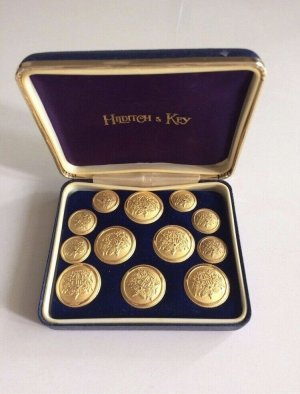 Hilditch&Key Bottone oro
