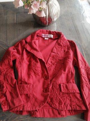 Nolita Blazer corto rosso mattone