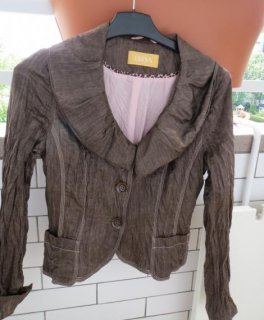 Angel Biba Blazer court marron clair