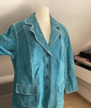 Unbekannte Marke Blazer unisexe turquoise-bleu cadet