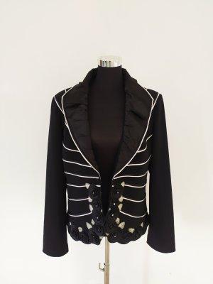 Jersey Blazer blanco-negro