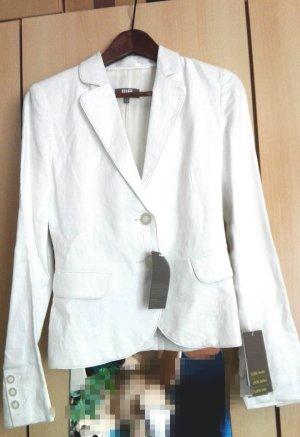 Jersey blazer wit