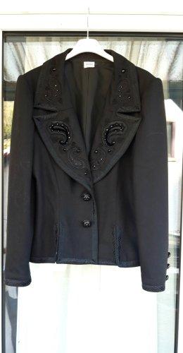 Renzo Blazer in lana nero