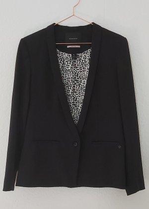 Maison Scotch Boyfriend Blazer black polyester