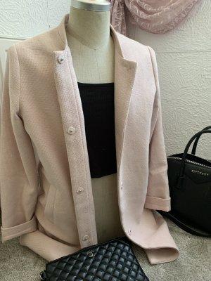blazer mantel jacke blogger rosa rose gr 40
