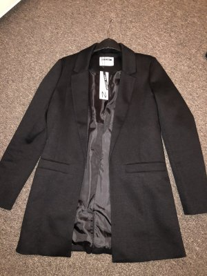 Noisy May Długa kurtka czarny