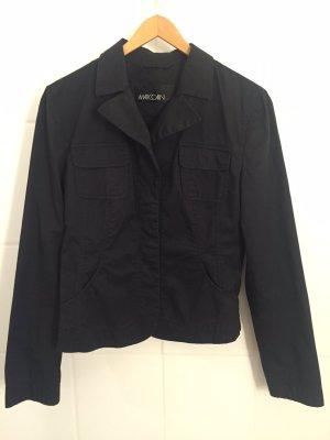 Blazer MARC CAIN Baumwolle schwarz Gr. 34 TOP Zustand