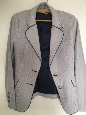 Jersey Blazer blanco-azul oscuro