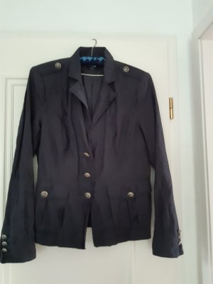 Comma Naval Jacket dark blue