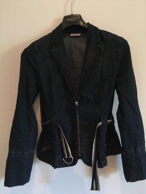 Max & Co. Blazer in jeans blu scuro Cotone