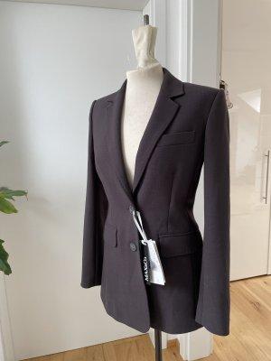 Max & Co. Klassischer Blazer dark grey-dark brown