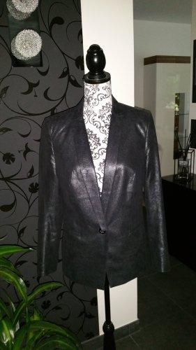Blazer#Metallic#Look#black