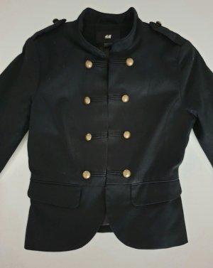 H&M Militair jack zwart