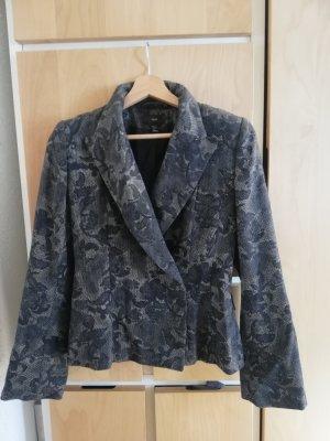 H&M Blazer Tweed negro-gris
