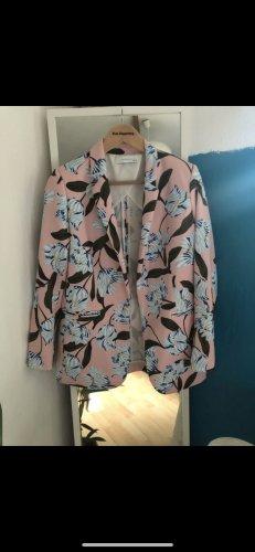 Reserved Lange blazer roze-blauw