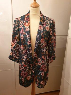 Blazer mit floralem Print von Zara