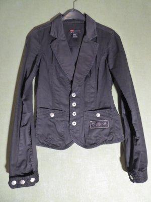 Diesel Korte blazer zwart
