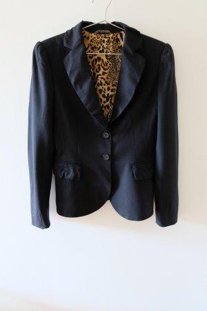 Blazer mit Futter mit Leopardenfell-Muster