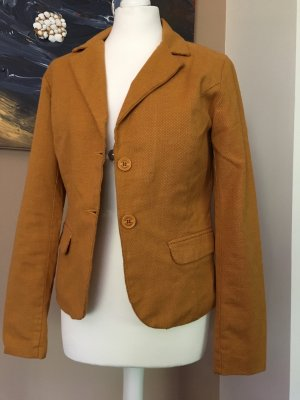 Bomboogie Boyfriend Blazer gold orange-dark orange cotton