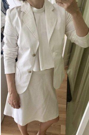 Hugo Boss Klassischer Blazer white
