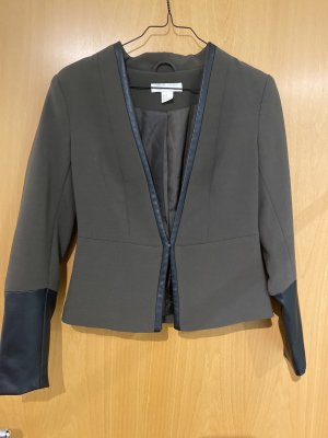 H&M Blazer in pelle multicolore
