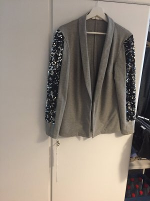 Sweat Blazer grey