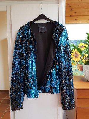 Broadway Blazer in jersey nero-blu