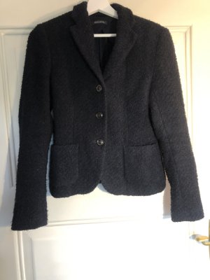 Marc O'Polo Blazer in tweed blu scuro