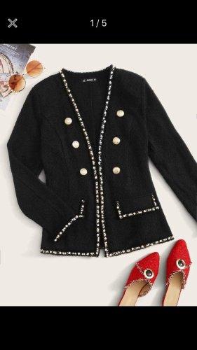 SheIn Blazer en laine noir