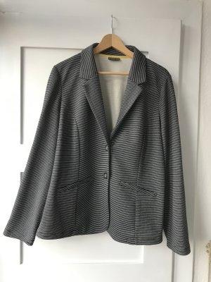 Street One Blazer en jersey noir-blanc coton