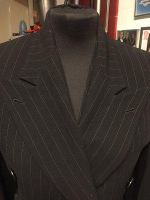Ralph Lauren Podwójna kurtka czarny-w kolorze białej wełny Wełna