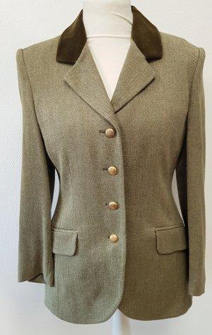 Radar Blazer de lana gris verdoso