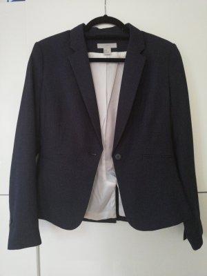 H&M Blazer unisex blanco-azul