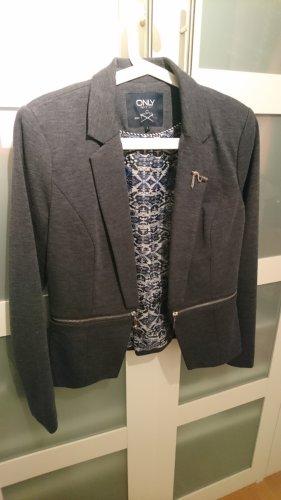 Only Tweed Blazer dark grey