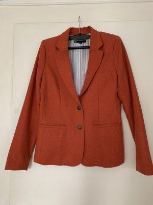 WE Fashion Blazer in lana arancione
