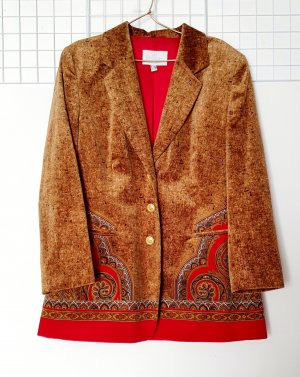 Ae boutique BY ELEGANCE S.A. PARIS Blazer lungo multicolore Cotone