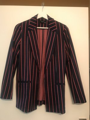 Reserved Jersey blazer donkerrood-donkerblauw