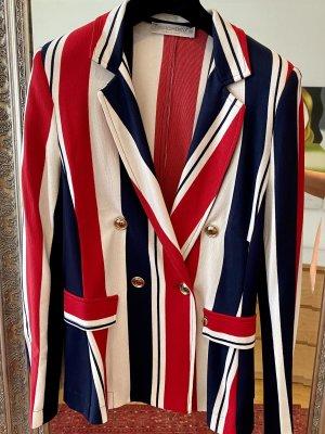 Rinascimento Blazer in jersey multicolore