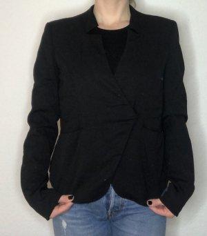 Tigha Wollen blazer zwart