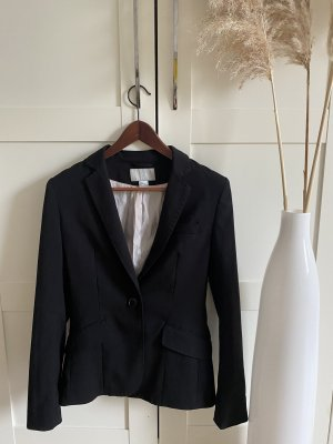 H&M Klassischer Blazer black
