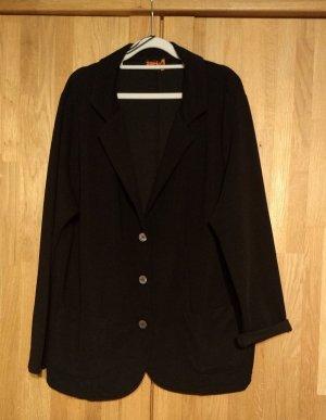 Aprico Jersey blazer zwart Polyester