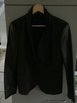 Zara Basic Short Blazer black