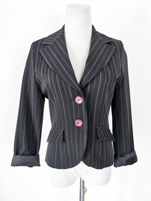 Pimkie Jersey Blazer black-pink