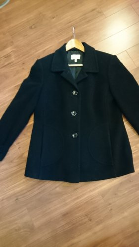 A. D. Collection Veste en laine noir