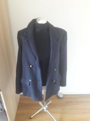 Second Female Blazer largo azul
