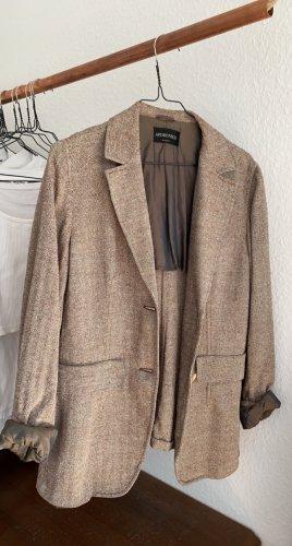 Antonio Fusco Tweed Blazer multicolored silk