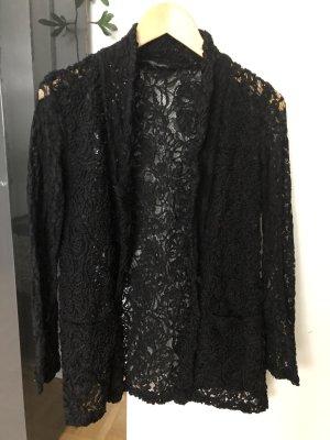 Amisu Blazer in maglia nero Poliestere
