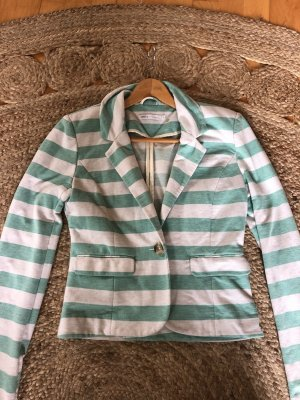 Only Jersey Blazer white-turquoise