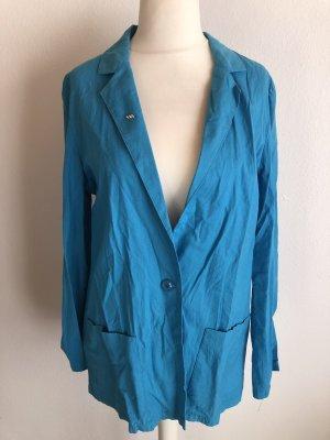 C&A Jersey blazer neon blauw-blauw