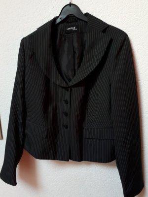 Laura Scott Klassischer Blazer donkergrijs-wit Polyester
